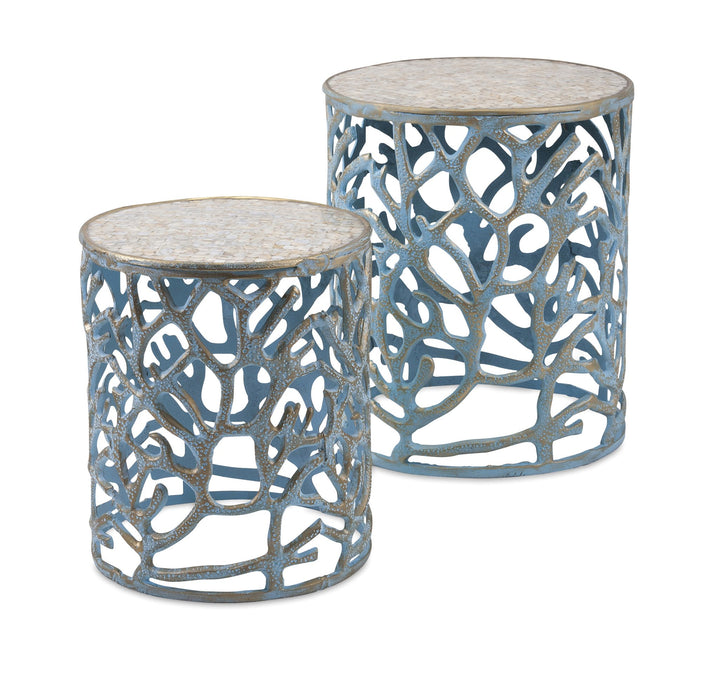 Coral-Mother-of-Pearl-Tables