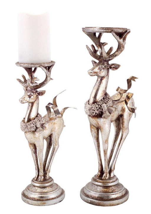 Deer Candle Holders