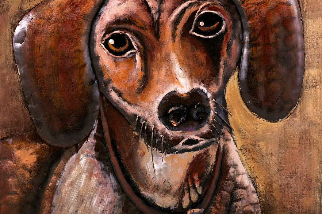 Dachshund-Dimensional-Metal-Wall-Decor