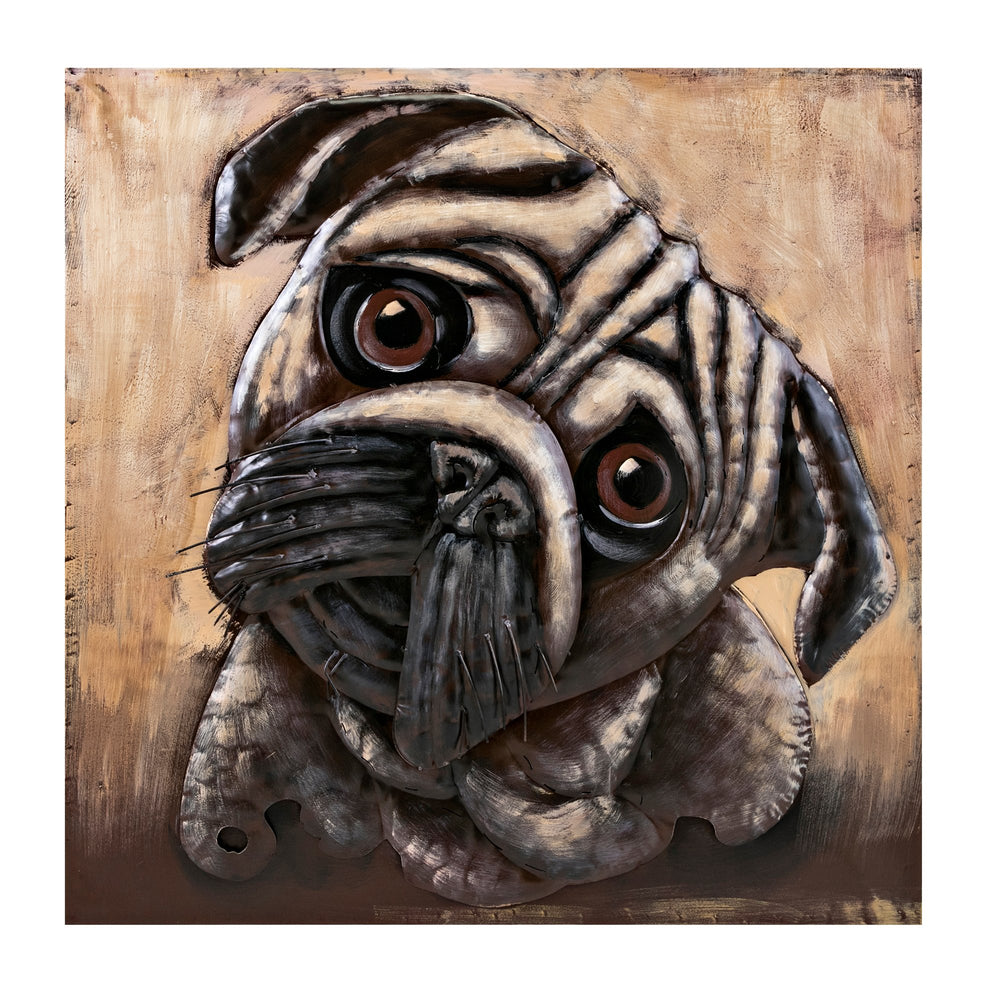 Pug-Dimensional-Metal-Wall-Decor