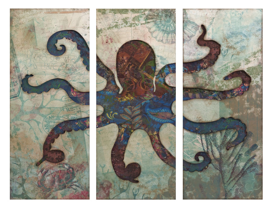 Splash-Triptych-Octopus