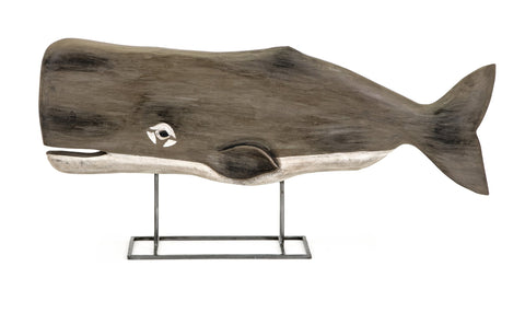 Achilles-Carved-Wood-Whale-Statuary