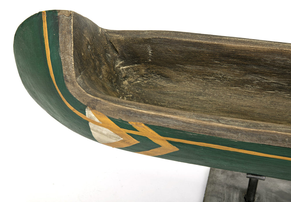 Adirondack-Small-Canoe-on-Metal-Stand