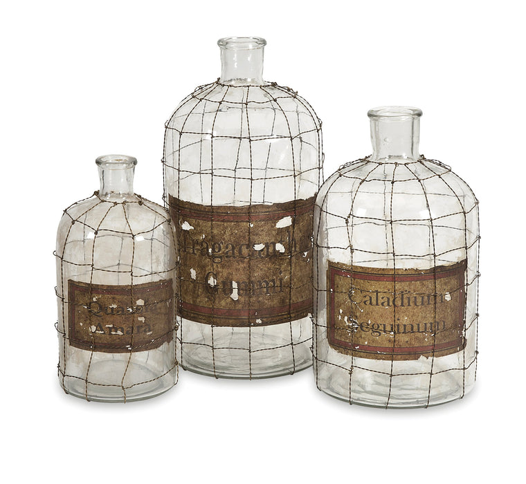 Dimora-Wire-Caged-Bottles