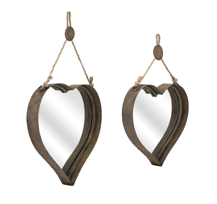 Heart-Shape-Wall-Mirrors