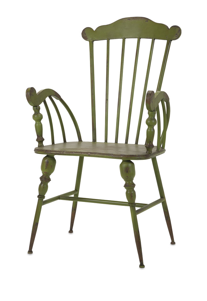 Trenton-Green-Metal-Arm-Chair