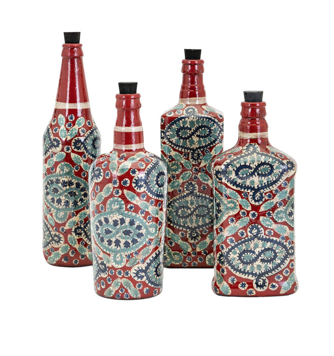 Alona-Hand-Painted-Glass-Bottles