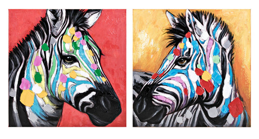Colorful-Zebra-Wall-Art