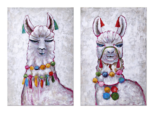 Llama-Party-Oil-Painting