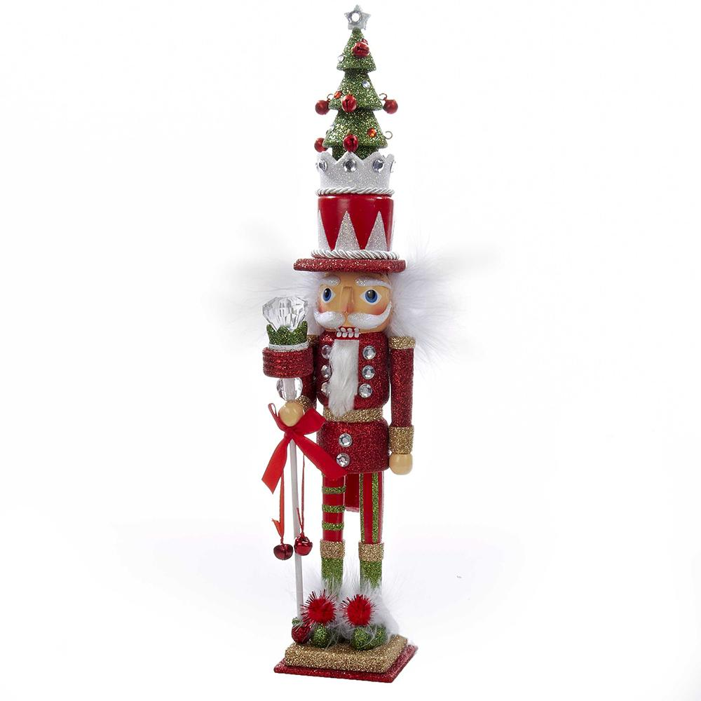 "15"" rdgrn tree nutcracker"