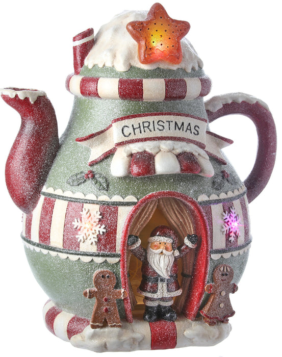 "17""B/O GINGERBREAD TEAPOT"