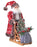 "24"" RDWH KNIT SANTA ON SLED"