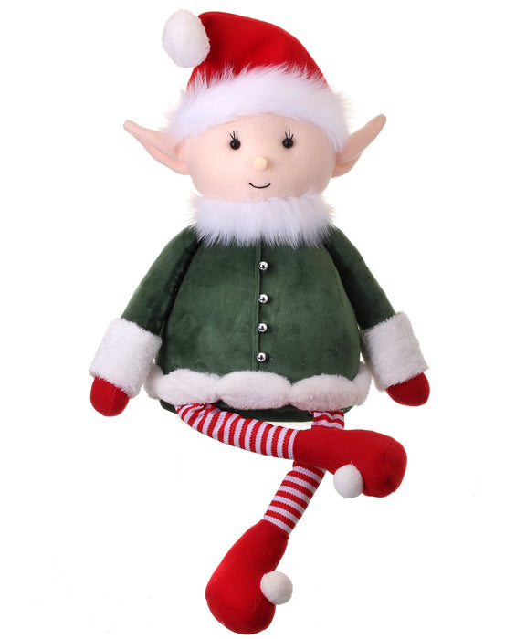 "27""  TOY WORKSHOP SITTING ELF"