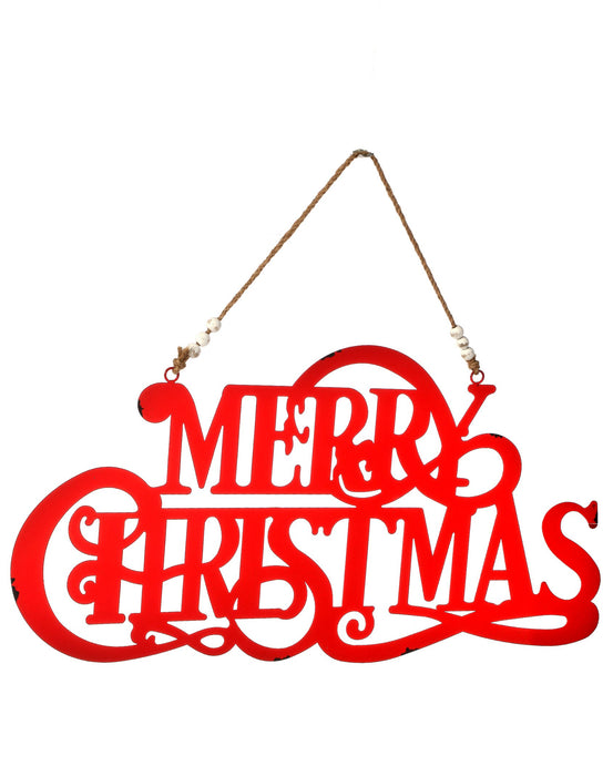 "24"" SCRIPT ""MERRY CHRISTMAS""  SIGN"