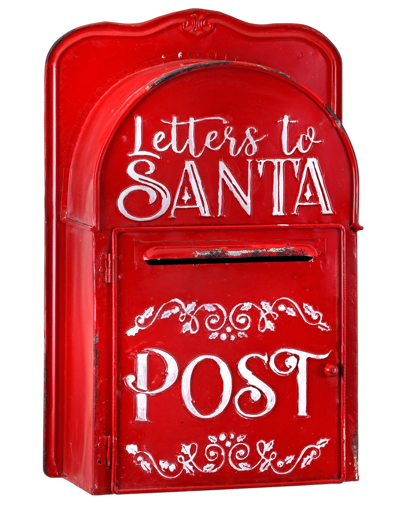 "15.5"" LETTERS TO SANTA MAILBOX"