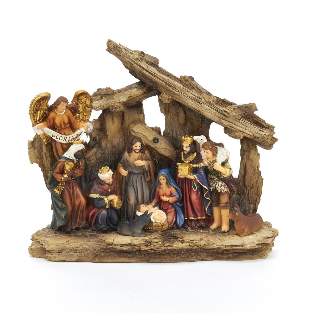 "7"" Nativity Table Piece"