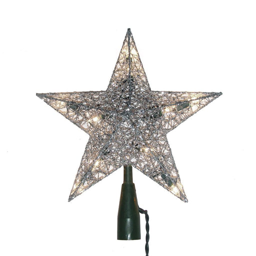 "9"" wire star topper"