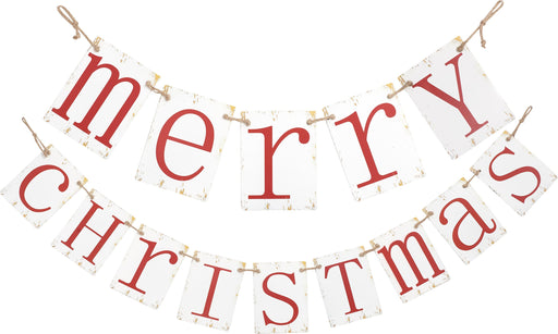 "62.5""""Merry Christmas"" Banner"