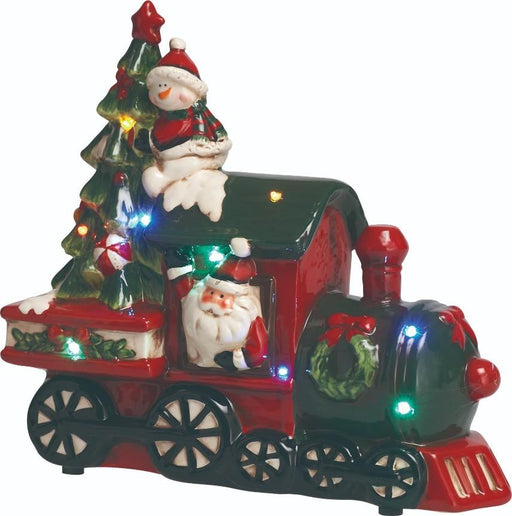 "10.5"" Santa Train Music/LED"
