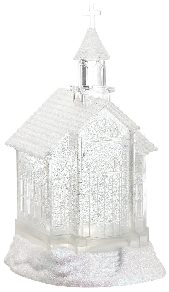 "11"" Church w/ Light"
