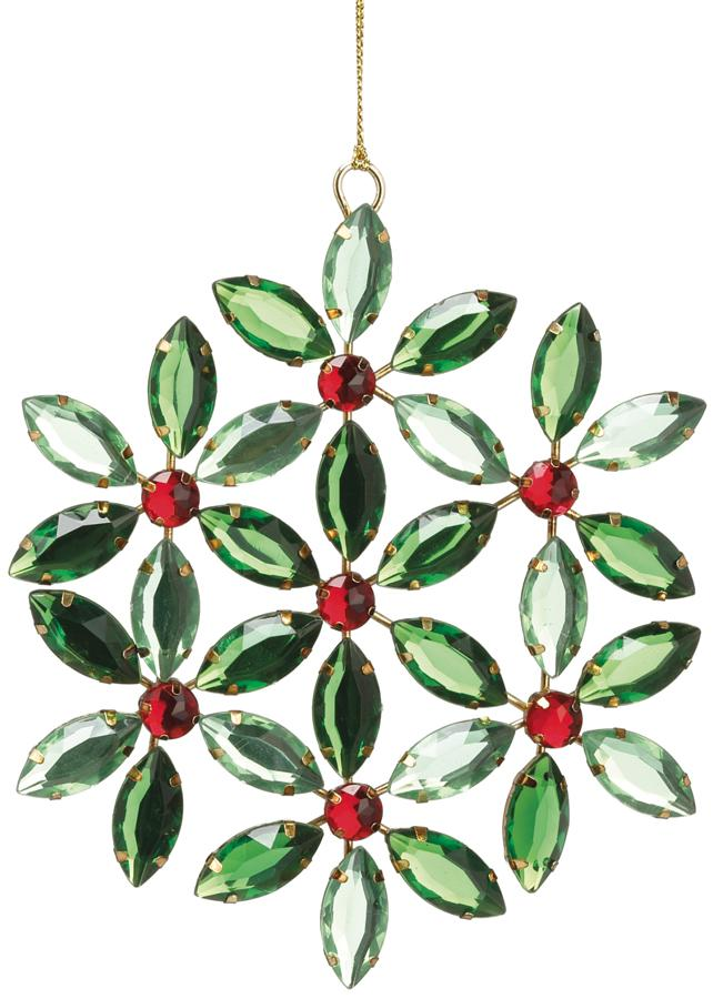 "5.25"" Rhinestone Gem Ornaments"