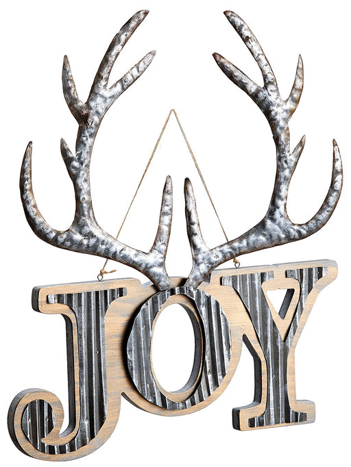 "17"" Antler Joy Sign"