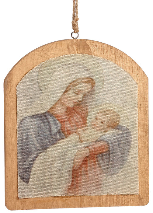 "8.86"" Mary/Baby Jesus Ornaments"