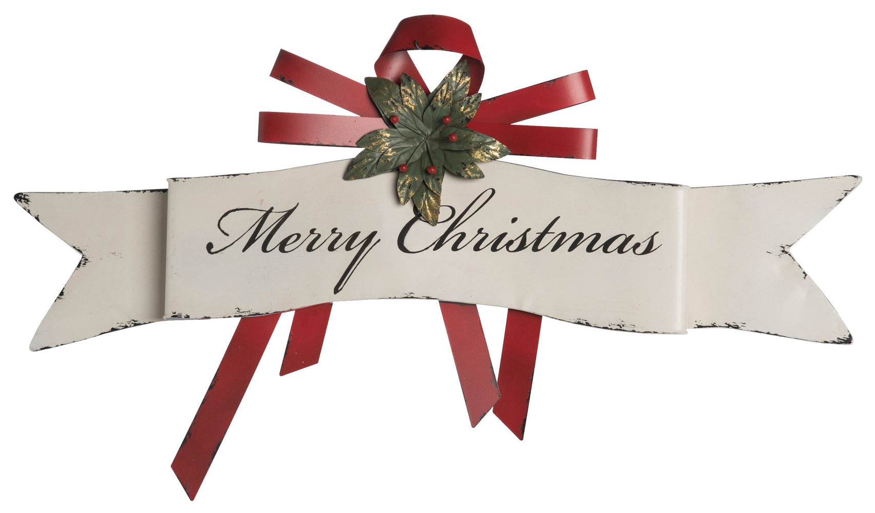 "20x33.5"" ""Merry Christmas"" Banner"