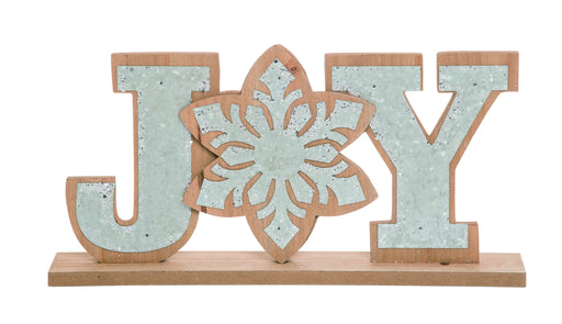 "8x15.5""JOY Word Décor"