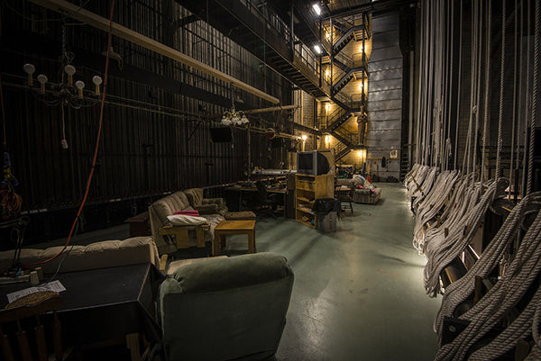 Backstage at the Benedum