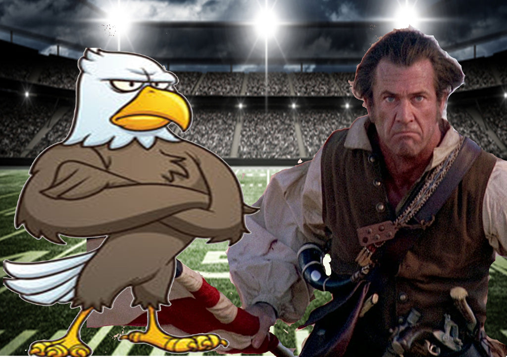 Vets unsure who to root for, the AmeriBirds or the Mel Gibsons in upcoming Superbowl