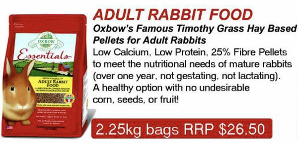 Oxbow Adult Rabbit Pellets
