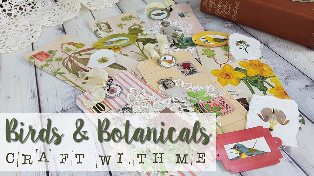Birds And Botanicals - Journal Projects
