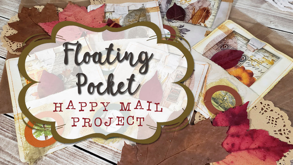 Autumn Junk Journal Project Share - Floating Pockets