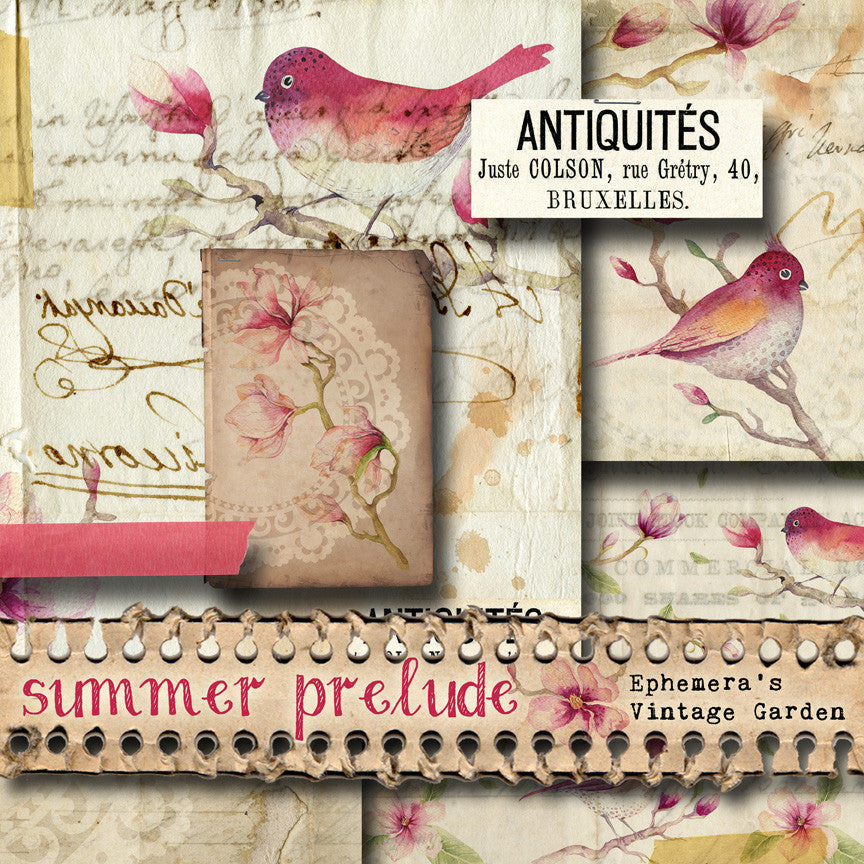 Now Available! - 'Summer Prelude' Printable Journal Kit