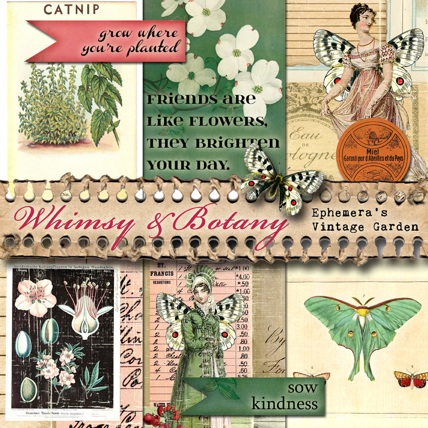 July Featured Collection - Whimsy & Botany