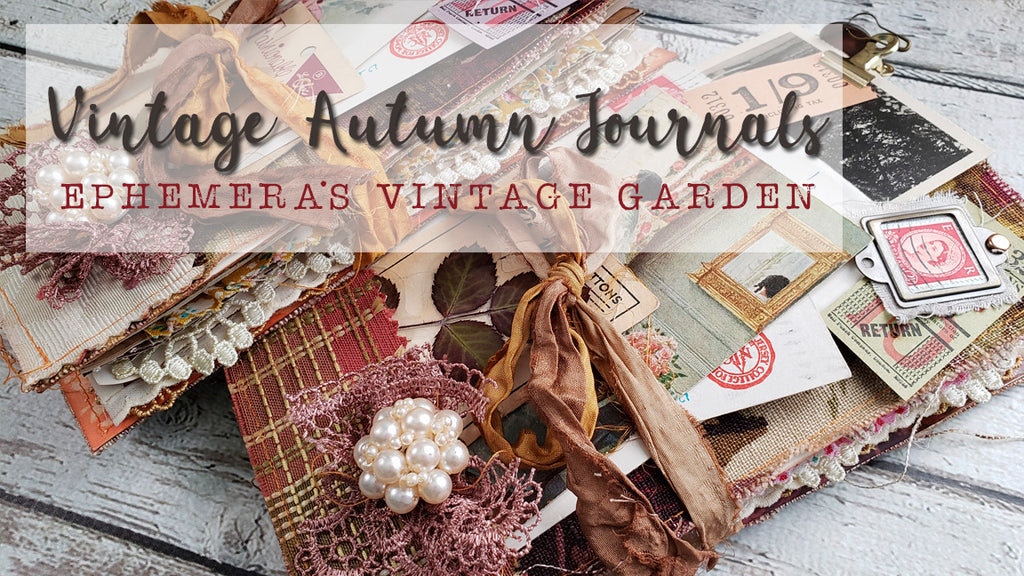 Vintage Autumn Journals