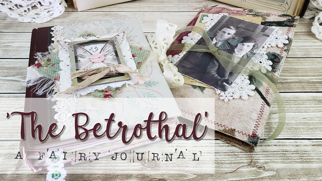 'The Betrothal' - Journal With Ephemera Folder