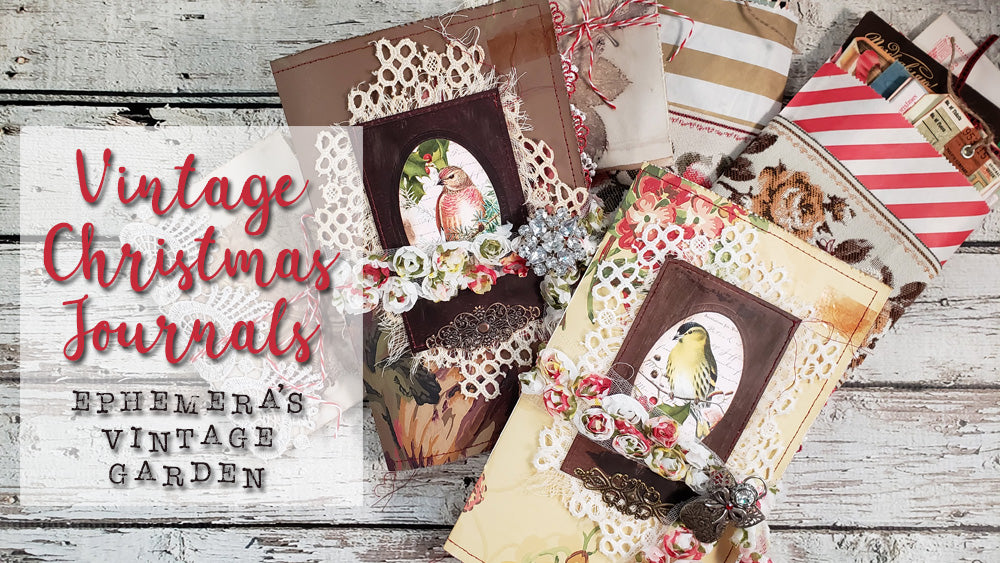 Vintage Christmas Journals