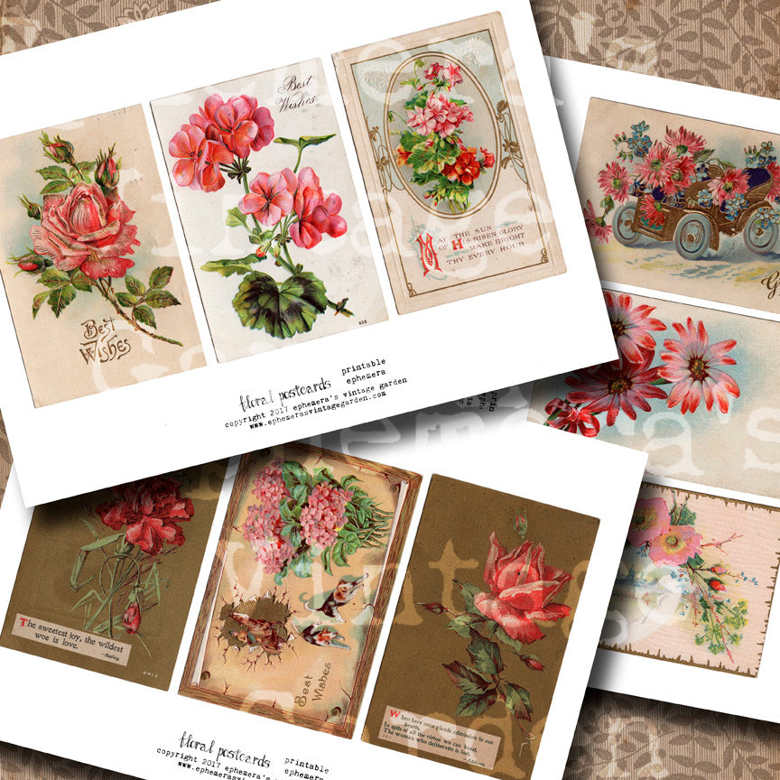 Miscellany Series - Vintage Postcards