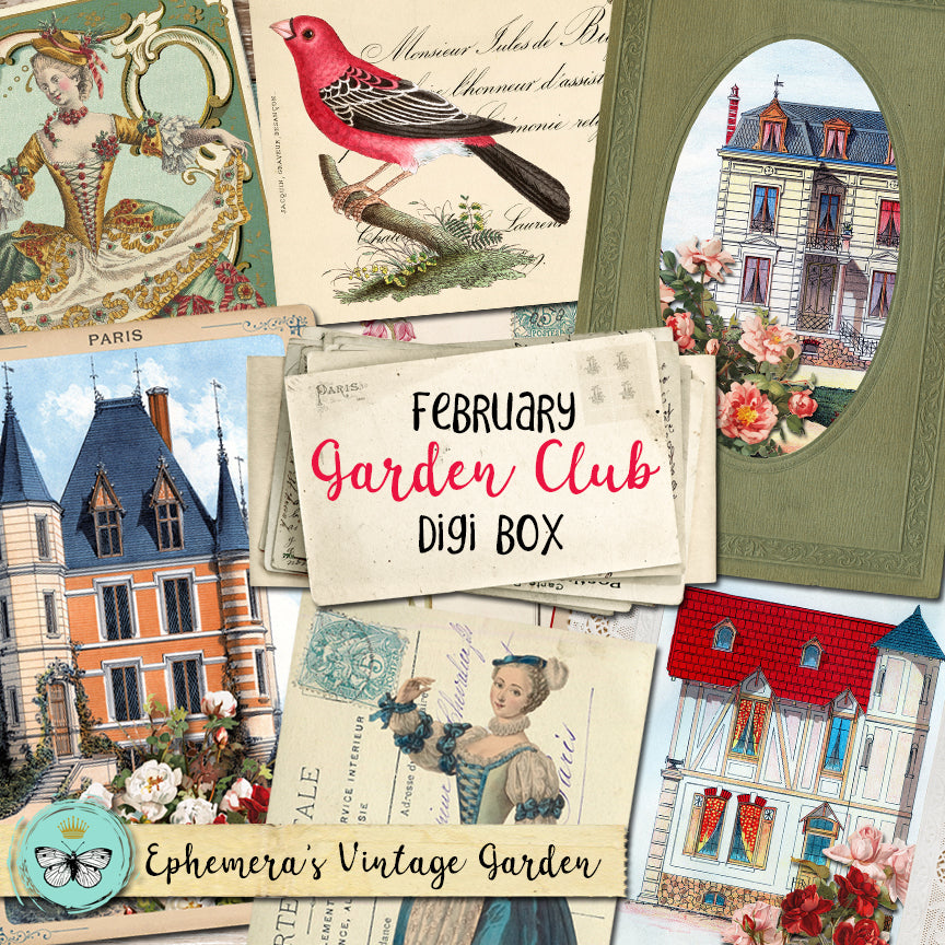 The February Garden Club Digi Box Is Here!