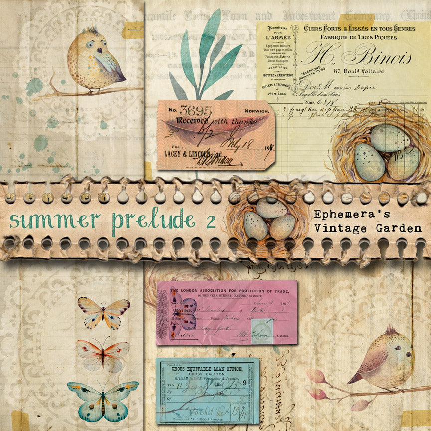 New Printable Journal Kit AND Freebie - Summer Prelude II