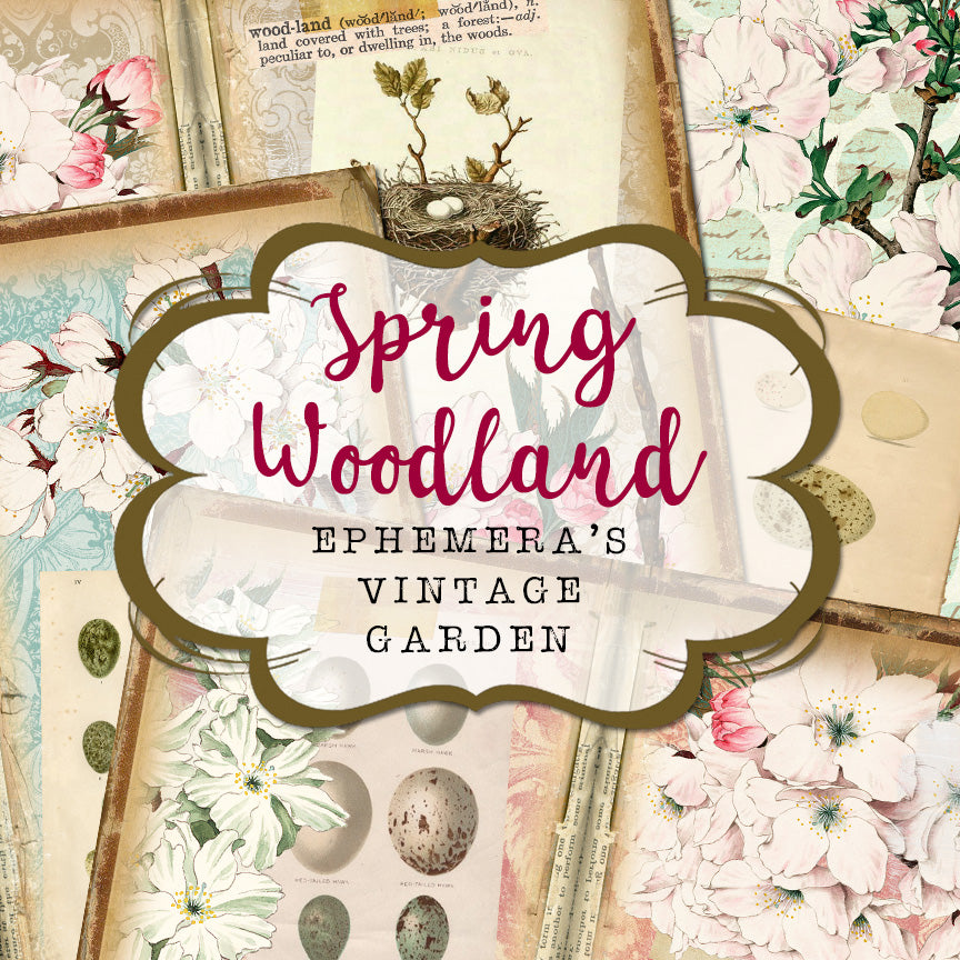 NEW Printable Collection - SPRING WOODLAND