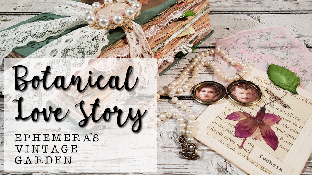 Botanical Love Story - A Vintage Journal