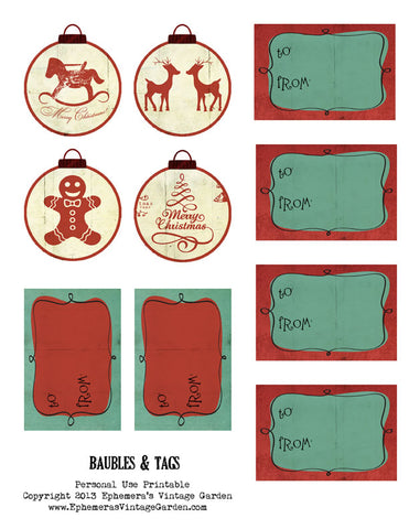 Baubles And Tags