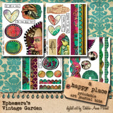 A Happy Place I - Printable Art Journal Kit