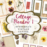 Cottage Meadow 1 - Printable Journal Kit