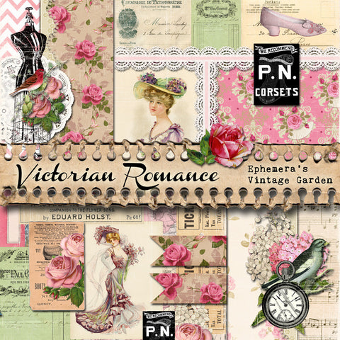 Victorian Romance - Printable Journal Kit