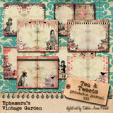 Tea & Tweets - Printable Journal Kit