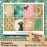 Enchanted Rose II - Printable Journal Kit